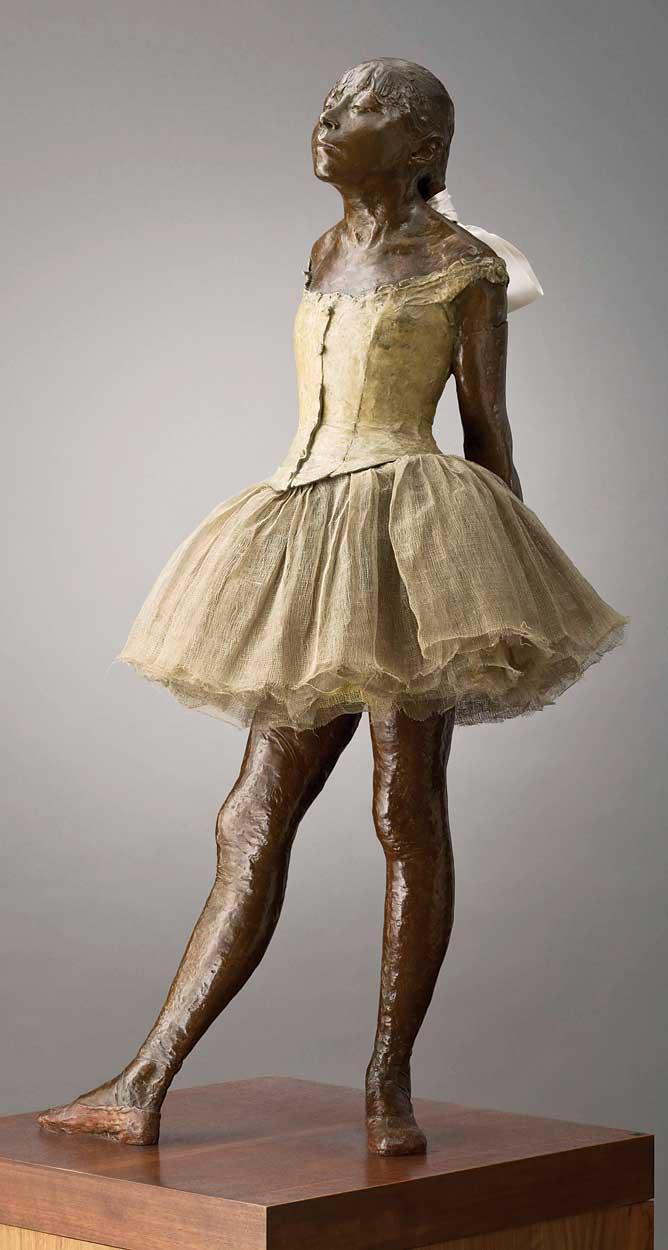 degas ballerina sculpture - 668×1250